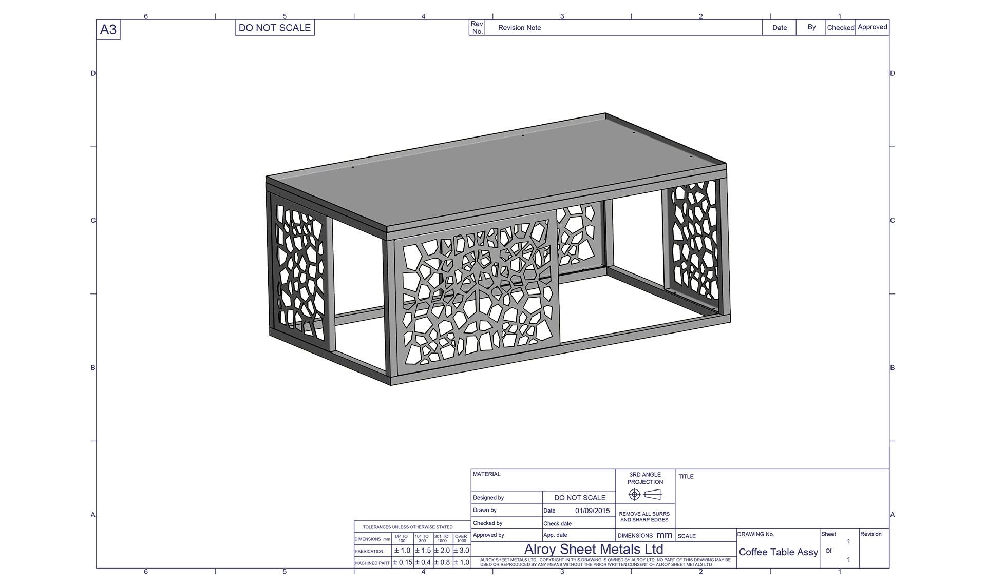 sheet metal prototyping 2 - Alroys