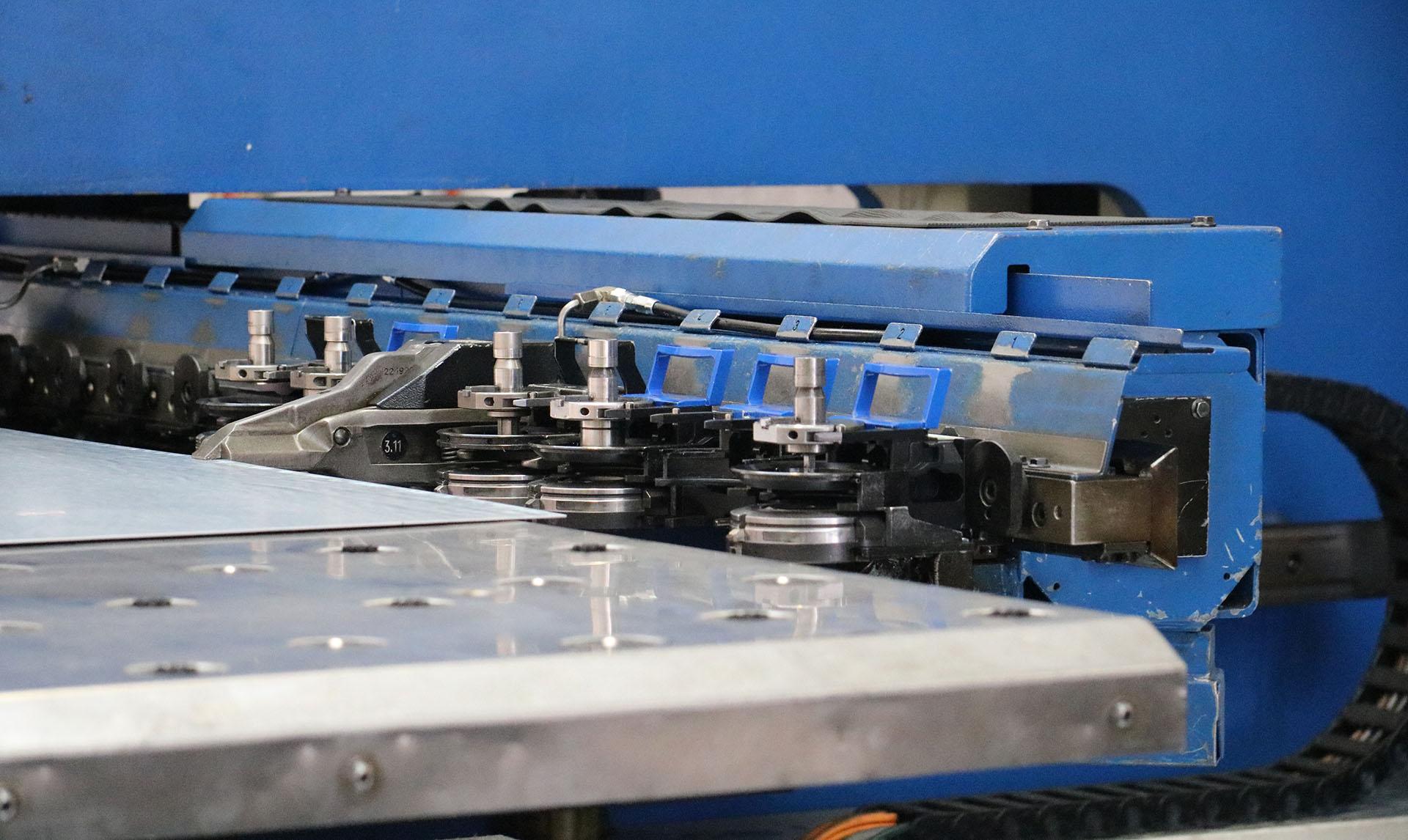 CNC Punching 2 - Alroys Sheet Metal
